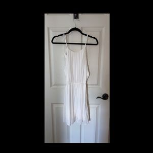 Abercrombie cream colored cute mini dress!!